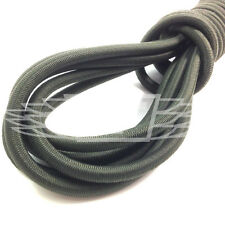 8mm x 10 METERS, NATO/OLIVE GREEN STRONG ELASTIC BUNGEE ROPE SHOCK CORD TIE DOWN