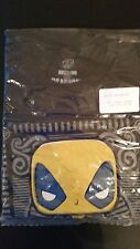 Marvel Collector Corp T-Shirt Yellow Deadpool NEW SMALL