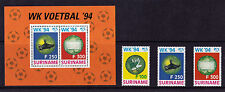 Surinam - 1994 World Cup Football - U/M - SG 1590-2 + MS1593