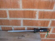 "Vintage 9"" Steel J.A. HENCKELS Knife Sharpening Steel Stick Sharpener GERMANY"