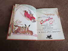 Vintage Children's Poetry Poems 1940's Christopher O! Barbara Young Mary Barton