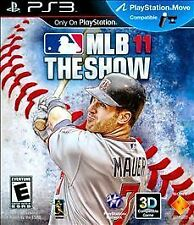 MLB 11 The Show GAME Sony PlayStation 3 PS PS3 2011 2K11