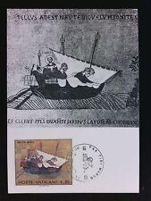 Vatican MK 1972 UNESCO VENEZIA HL. Markus Maximum cartolina MAXIMUM CARD MC c6241