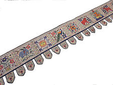 Indian Valance for Windows - Ethnic Embroidered Door Hanging Handicraft 172 inch