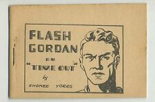 """1938 Tijuana Bible Flash Gordon Booklet  """"Time Out"""" by Shomee Yorrs"""
