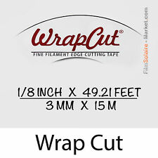 """WrapCut"" - 15m, fil de coupe film vinyl, adhésif, covering, wrap, Filament Tape"