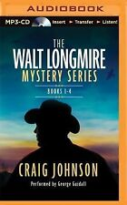 The Walt Longmire Series Books 1-4 by Craig Johnson (2008, MP3 /25% OFF