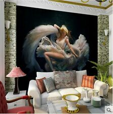 3D Wallpaper Bedroom Mural Modern Luxury Embossed girl Wall Background B00847