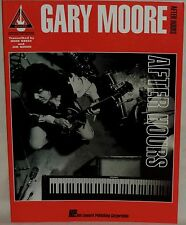 Gary Moore - After Hours - Guitar Recorded Versions - Sheet Music 1993