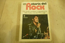 """STORIA DEL ROCK""""Libro di carl Belz-storia musica dagli anni 50 MONDADORI  1975"""""""