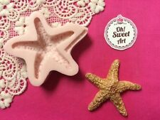Sea Star III, Sea, seascape silicone mold fondant cake decorating soap wax food