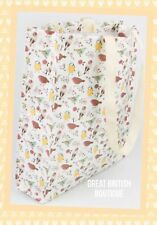 SO CUTE WILD BIRD REUSEABLE SHOPPING BAG SASS& BELLE-foldaway durable free post!