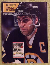 Beckett Hockey Price Guide - March 1991 - Ray Bourque, Mike Bossy