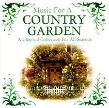 CD MUSIC FOR A COUNTRY GARDEN VIVALDI PACHELBEL MYERS FAURE GRIEG MORRICONE ETC
