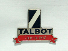 Talbot RACING PIN Auto Pins Grand Prix  Collector  Pin