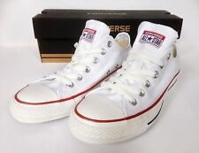 Converse Classic Chuck Taylor All Star White Low Trainers Sneakers size 4