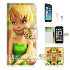 iPhone 7 (4.7') Flip Wallet Case Cover P0054 TinkerBell
