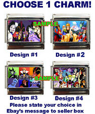 Disney's Villains Custom Italian Charm, really cool, scary!  choose!