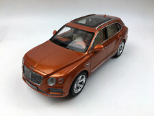 Kyosho 1:18 Bentley Bentayga Orange Flame Diecast Model Car Limited Edition RARE