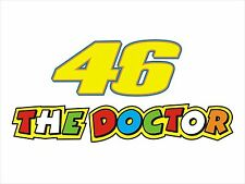 46 The Doctor Sticker Decal Graphic Vinyl Label