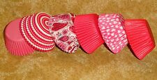 Valentines, Love,Fashion Bake Cups, Wilton, 150 Ct, Cupcake Papers,415-2055,Red