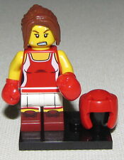 LEGO NEW SERIES 16 KICKBOXER MINIFIGURE 71013 FEMALE GIRL BOXER FIGURE
