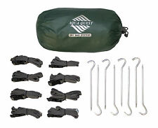 Aqua Quest Guide 3 x 4 m Sil Tarp + Pegs & Straps Kit - 13 x 10 ft Green