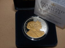 RARE 2012 Guernsey Diamond Jubilee Silver Proof £5 Five Pound Crown Coin