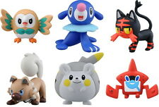 6pcs Set Takara Tomy Pokemon Sun and Moon Monster Collection EX MC Figure