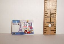 RE-MENT MINIATURE OPENED BOOK 1/6 DOLL SCALE ACCESSORY LITTLES RETIRED
