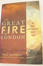 British Great London Fire 1666 Reference Book