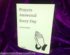 PRAYERS ANSWERED EVERY DAY Finbarr Occult Magic White Bible Christian Grimoire