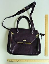 Women's Mondani Egg Plant Purple Hand Bag Purse Style Ladies Plum PRICE DROP