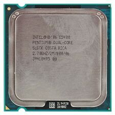 Intel Pentium dualcore E5400 Processor 2.7 GHz 2MB Cache Socket LGA775