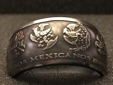 Fine Silver Coin Ring 1oz 999 Mexican Libertad Sizes 5-15