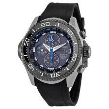 Citizen Men's BJ2115-07E Eco-Drive Depth Meter Imperial Rubber Dive Watch