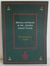 ROYAL LYTHAM & ST. ANNES GOLF CLUB  1998 YEARBOOK