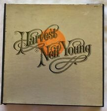 Neil Young  Harvest  Reel Fully Tested 3-3/4ips  VG+
