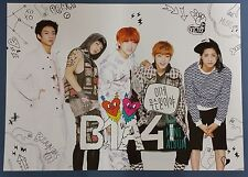 B1A4 - What's the Problem  OFFIC​IAL POSTER *HARD TUBE CASE* UNFOLD