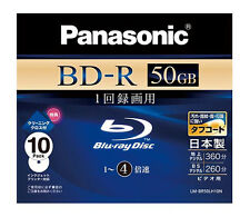 Made in Japan Panasonic Bluray 50GB BluRay BD-R DL Blu ray HD Inkjet Printable