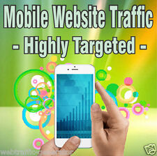 25,000 Real Visitors! HIGHLY TARGETED MOBILE TRAFFIC! iOS and/or Android
