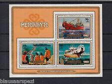 907 ) Penrhyn 1984 **/MNH: Schiffe, Ships, World Communications Year