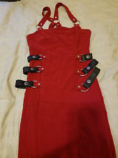 Lip Service Red Mini Dress
