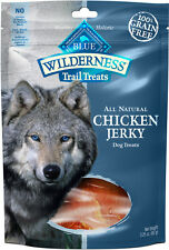 BLUE BUFFALO WILDERNESS CHICKEN JERKY 3.25OZ  Free Shipping  NEW w/Seal