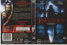Dvd * Ravenous * 1999 Australian Fox Movies Issue Grindhouse Cannibalism Horror!
