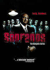 The Sopranos The Complete Series Season 1-6 (DVD, 2014, 30-Disc Set) 1 2 3 4 5 6