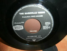 "the nashville teens""upside down""single7""or.fr.decca720723de 1966.promo juke-box"