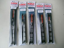 5 x  MAX PERFORMANCE READY TO FISH COMPLETE PELLET/PASTE POLE RIGS Size 12's