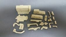 Auslowe #E6 - Resin cast Detroit Series 60 engine kit.   1/25 scale.