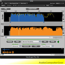 Synchro Arts VOCALIGN PRO 4 Auto Align Audio Tracks Software Plug-in NEW